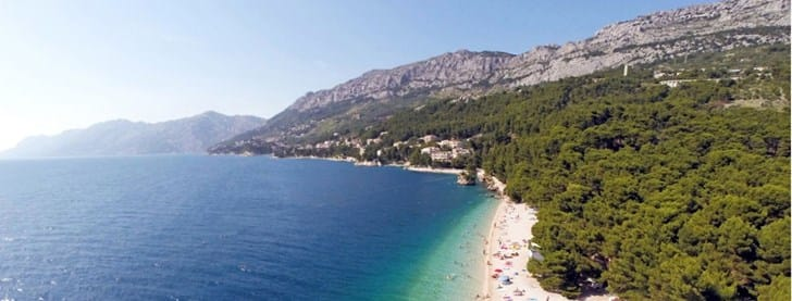 Brela, the magnificent resort on Makarska Riviera